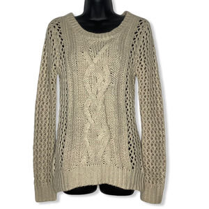 Charlotte Russe Cable Knit Sweater